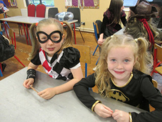 The Halloween Party and Cake Sale