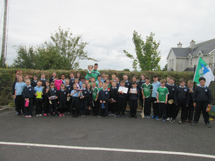 Visit from All-Ireland Hurling Champion, Kyle Hayes