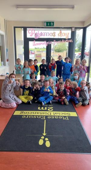 Pyjama Day at Banogue NS