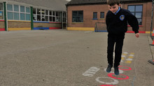 New Playground Markings