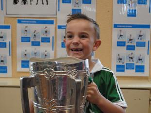 Liam McCarthy Cup visits Banogue NS