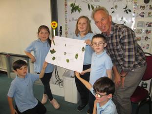 Visit from Biodiversity Expert: Geoff Hunt