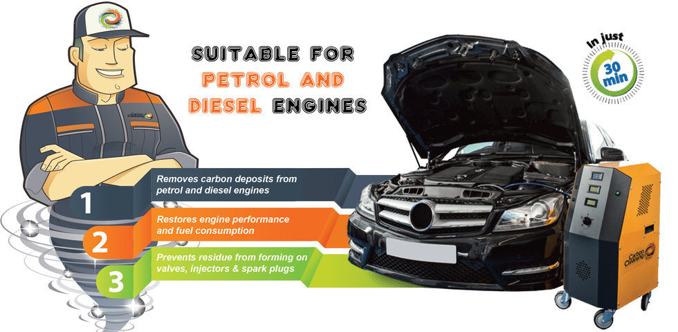 Engine carbon clean NI