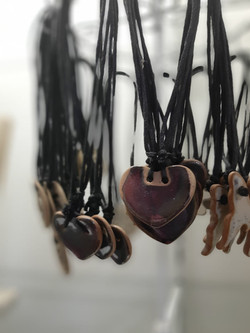 pendentifs coeurs