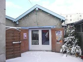 Atelier du Coquelicot en hiver