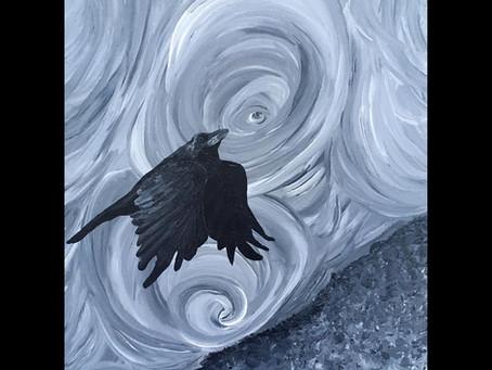 The Spiralling Raven