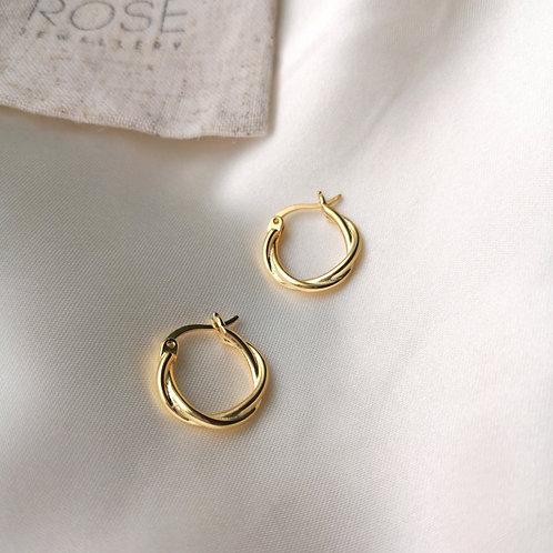 Grace Hoop Earrings