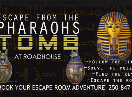 Escape from the Pharaoh's Tomb