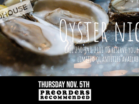 Oyster Night