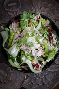 Fresh locally sourced salads