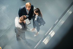 Business.People meeting Overhead view.CM