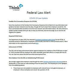 ThinkHR Federal Law Alert
