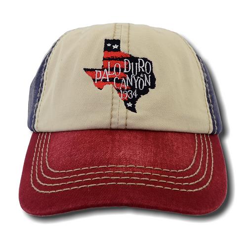 Patriotic Palo Duro Canyon 1934 Baseball Hat