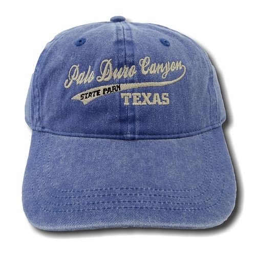 Palo Duro Canyon State Park Distressed Baseball Hat