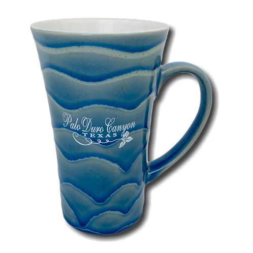 Tall Flared Swirl Mug