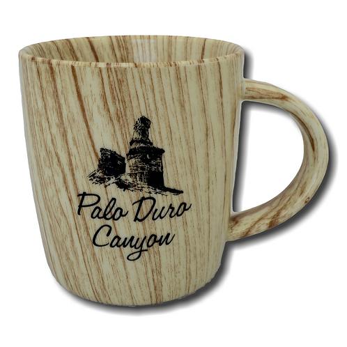 Wood Grain Palo Duro Canyon Mug