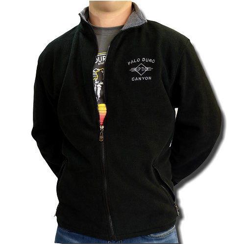 Adult Black Fleece Sweatshirt