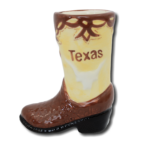 Texas Cowboy Boot Shot Glass