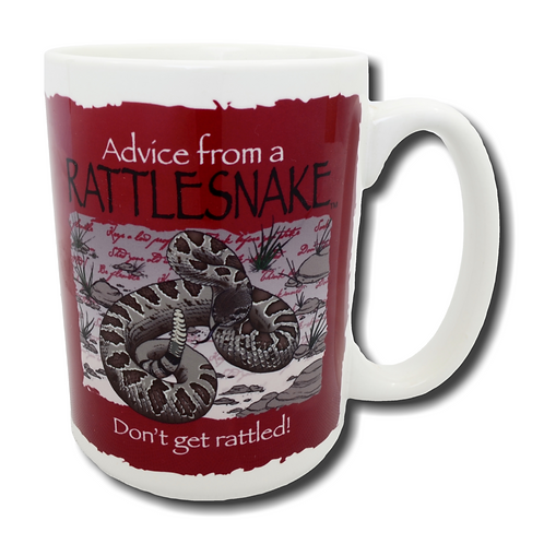 Advice from a Snake Mug