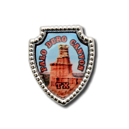 Palo Duro Canyon Souvenir Hat Pin
