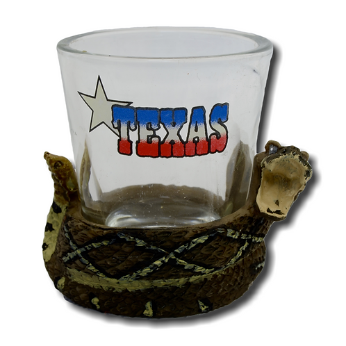 Texas Icons Shot Glasses