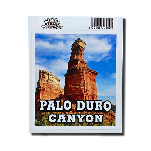 Palo Duro Canyon Lighthouse Decal
