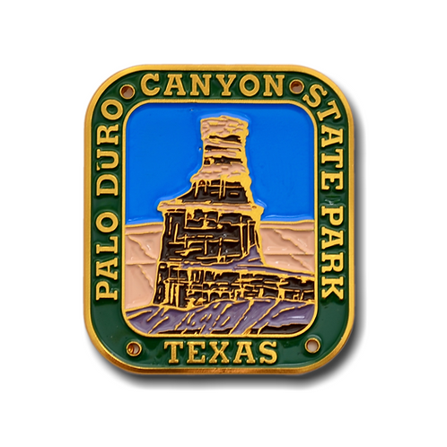 Palo Duro Canyon Hiking Stick Medallion