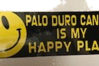 Palo Duro Canyon Is My Happy Place Sticker