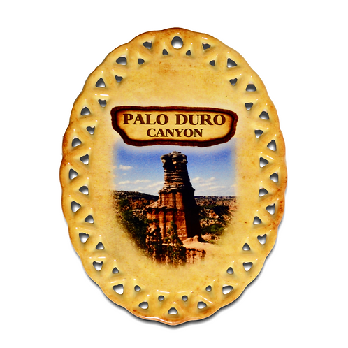 Palo Duro Canyon History Ornament