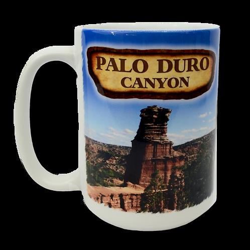 Palo Duro Canyon History Tall Mug