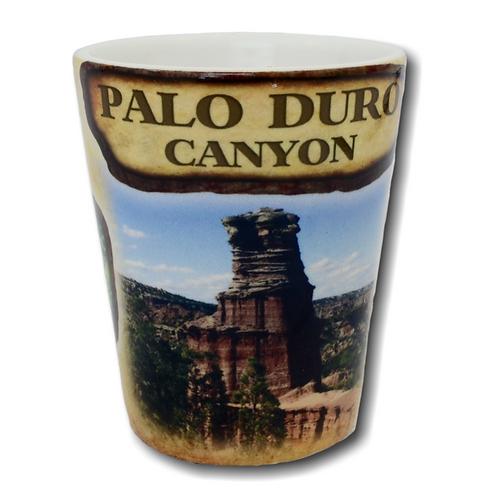 Palo Duro Canyon Lighthouse Shot Glass