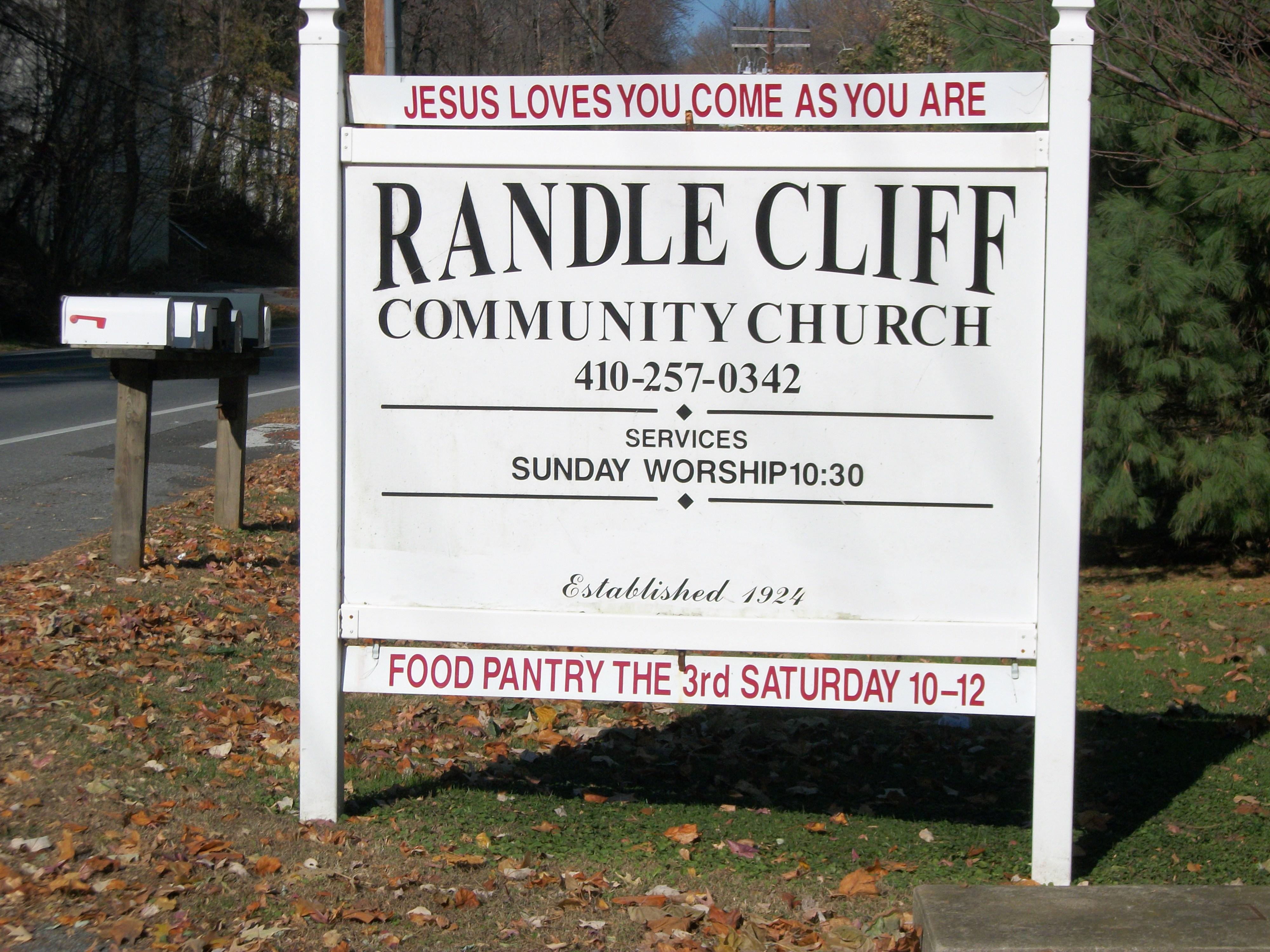 We're a grassroots church ...