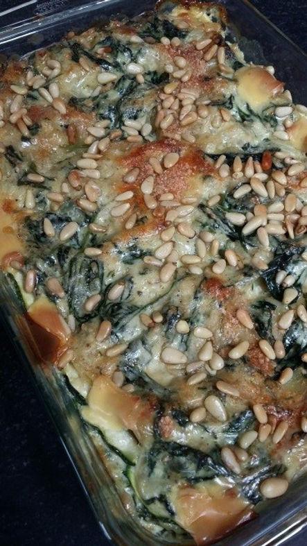 Lasagne met spinazie en gerookte zalm.jp