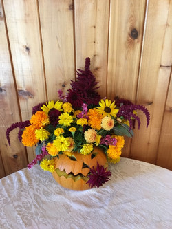 3rd Place Artistic Floral Arrangement - Mary Cannon