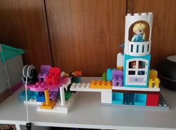 2nd Place Lego Display - Rosie Epp