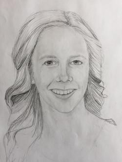 2nd Place Original  Drawing - Jade Fossen