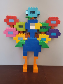 1st Place Lego Display - Rourke Loewen