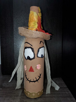 1st Place Scarecrow - Rourke Loewen