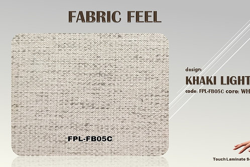 FB05C Khaki Light Fabric Texture Grains