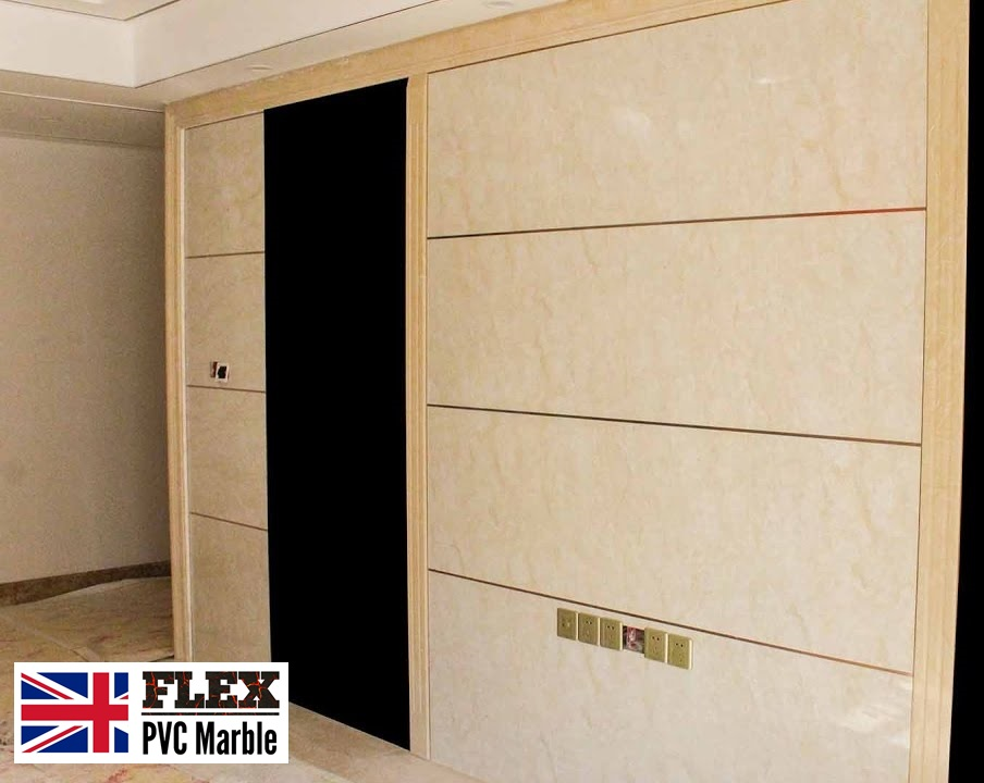 wall office pvc uv marble
