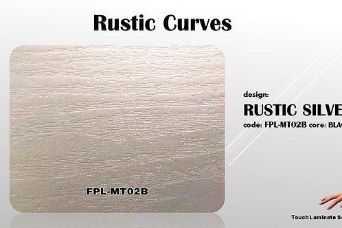 MT02B Rustic Silver Wood Texture Grains