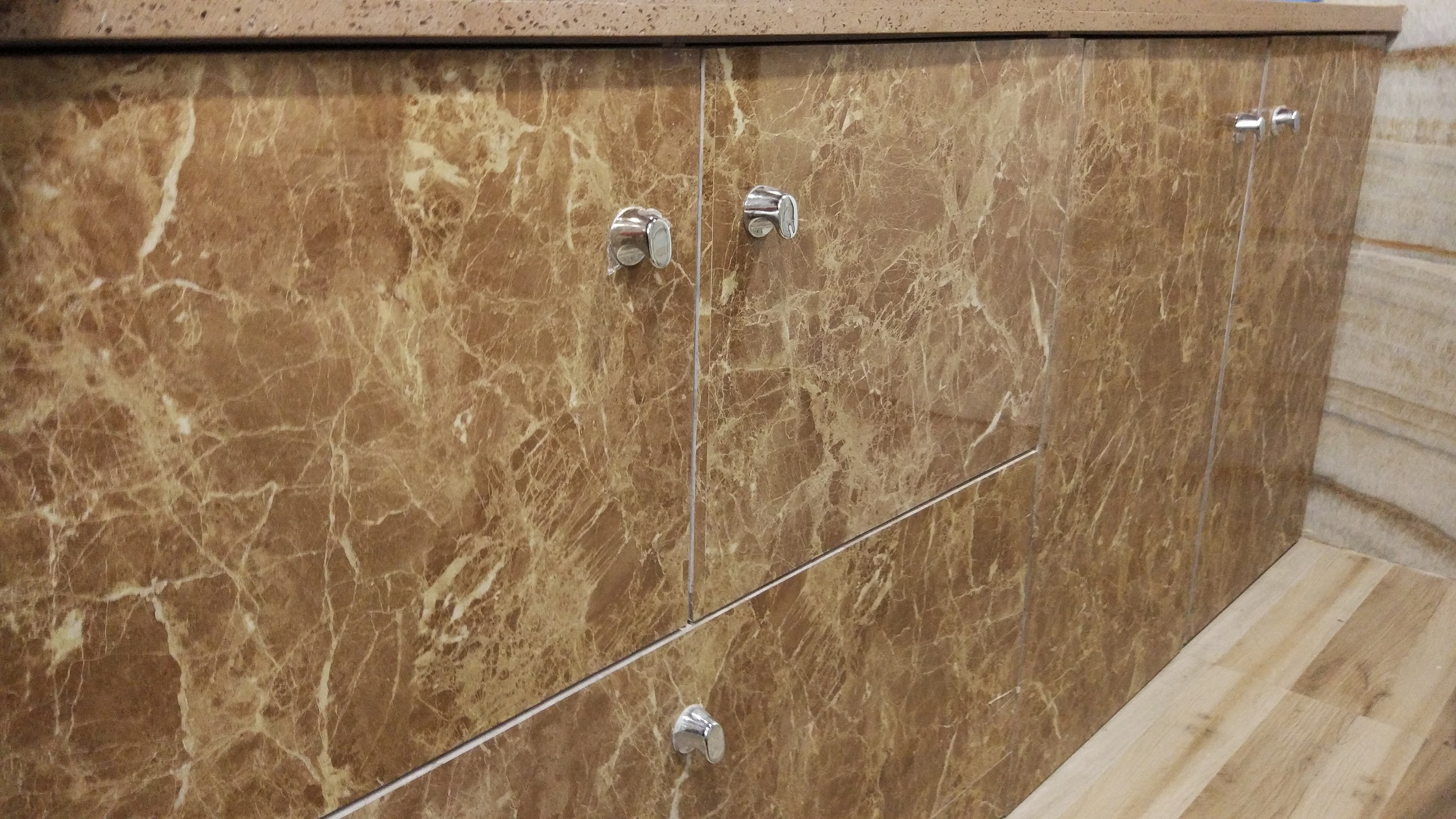 FLEX PVC Marble on Bathroom Furniture