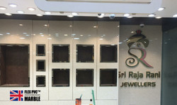 showroom wall pvc marble
