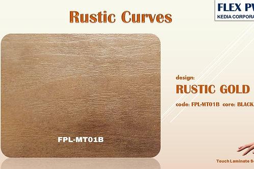 MT01B Rustic Gold Wood Texture Grains