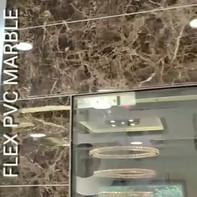 FLEX PVC UV Marble Emperador Dark Lift W