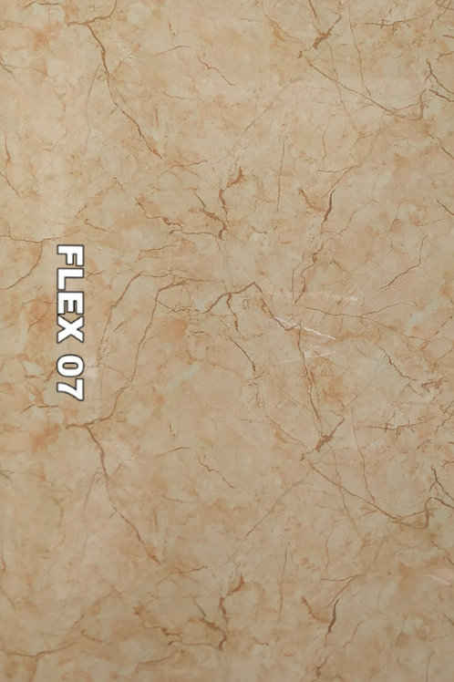 FLEX 07 - Italian Light Brown PVC Marble (size 2x4ft, 4 no's)