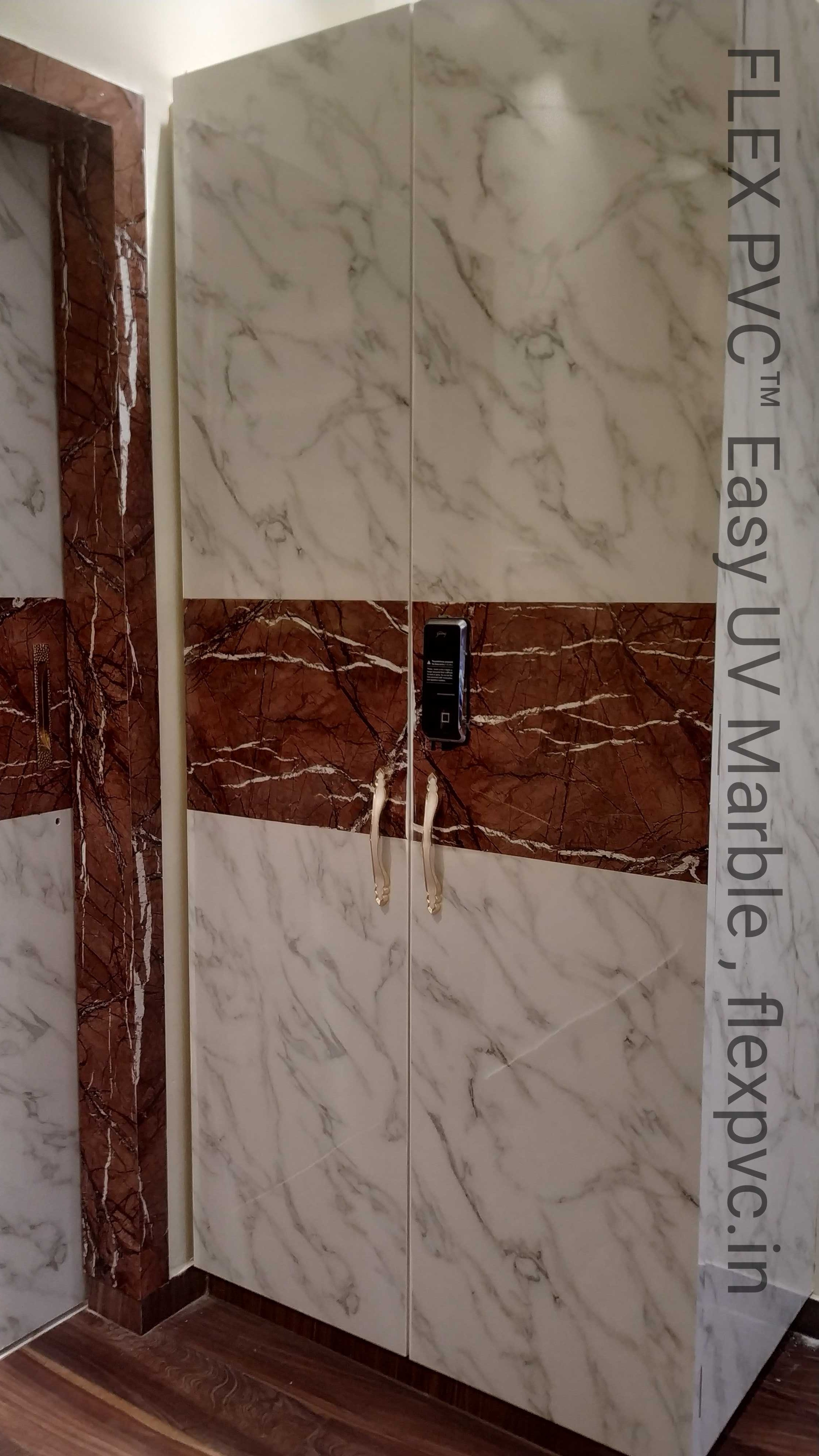 Furniture PVC UV Marble Sheets