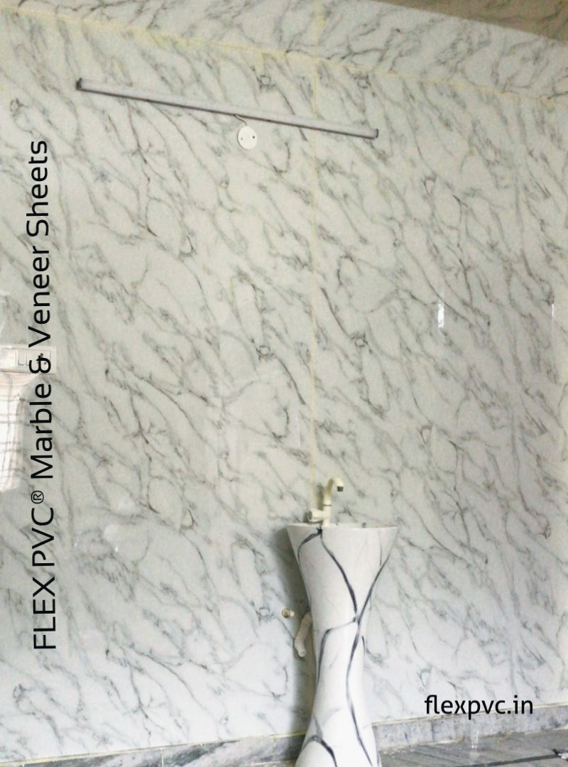 Bathroom wall pvc uv marble