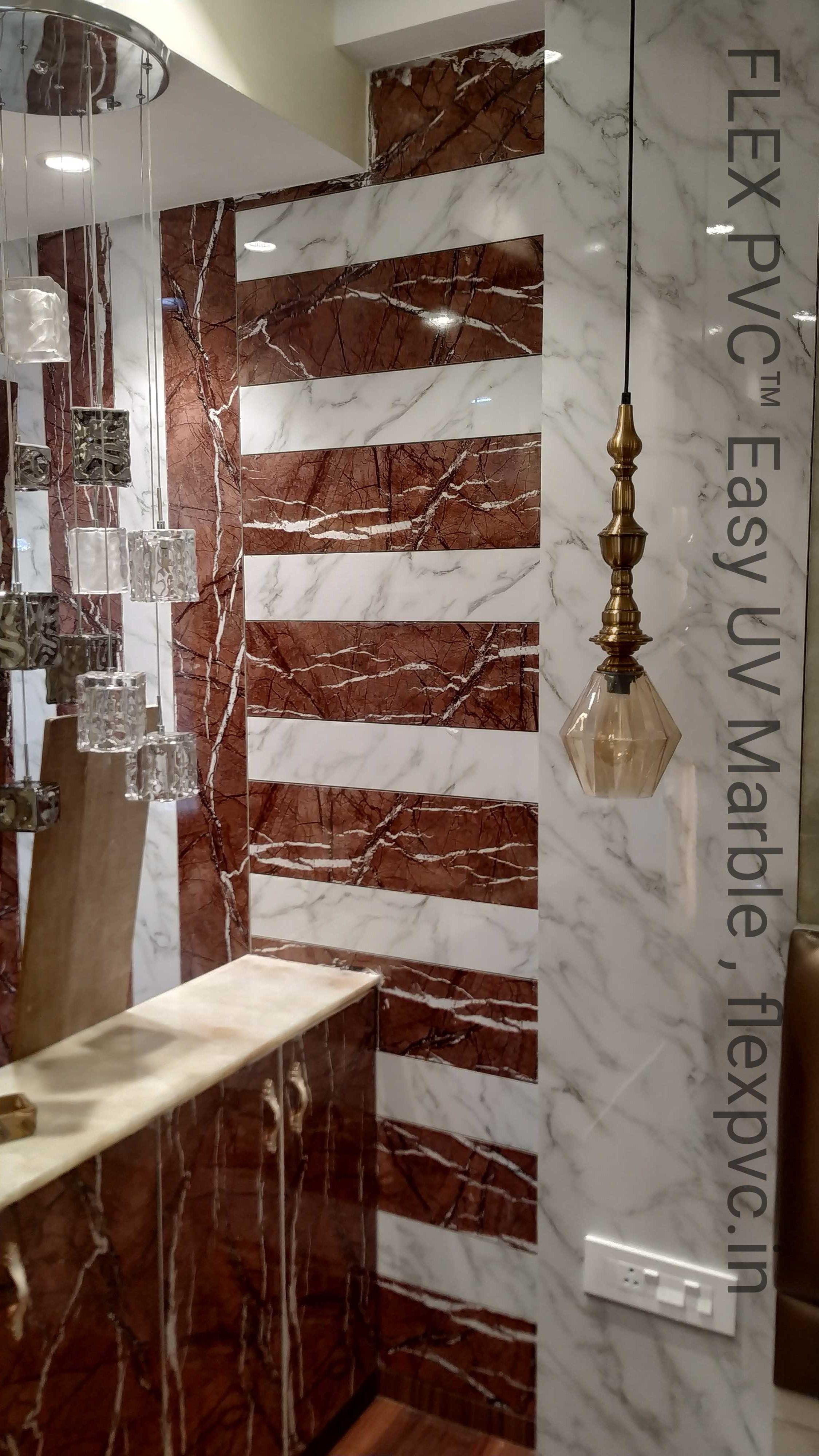 flex pvc marble designer wall cladding m