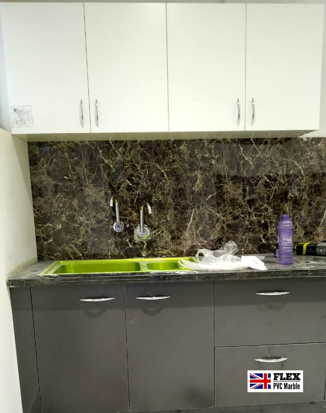 kitchen wall pvc marble sheet